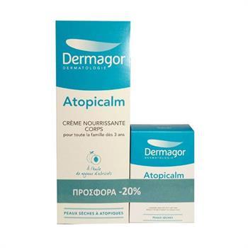 Inpa Dermagor Atopicalm Nourishing Cream Corps 250ml & Dermagor Atopicalm Savon Surgras 150gr