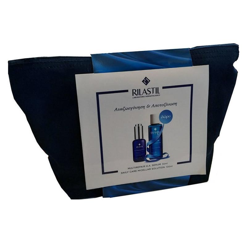 Rilastil Promo Multirepair H.A. Facial Detox Serum 30ml & Daily Care Micellar Solution 100ml