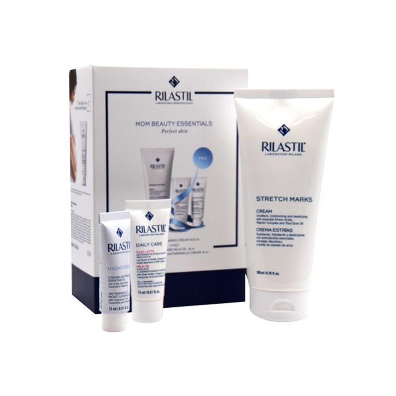 Rilastil Promo Stretch Marks Cream 200ml & ΔΩΡΟ Daily Care Milk Oil 15ml & Hydrotenseur Antiwrinkle Cream 15ml