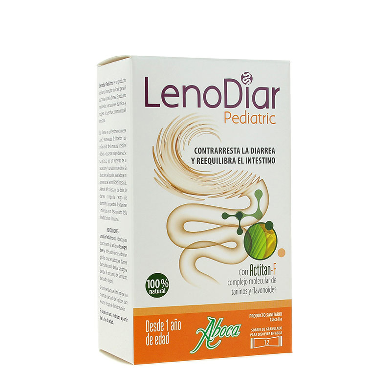 Aboca Lenodiar Pediatric 12 Φακελίσκοι