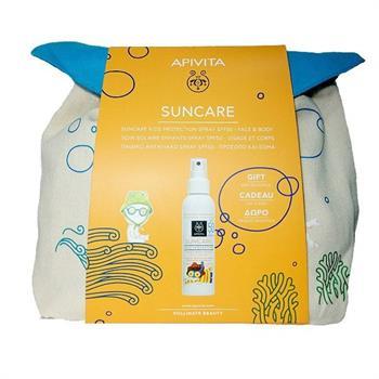 Apivita Set Suncare Kids Protection Spray για Πρόσωπο & Σώμα SPF50 150ml & ΔΩΡΟ Παιδικό Backpack