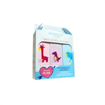 Helenvita Baby Promo Pack Με Baby Body Milk 200ml & Baby Nappy Rash Cream 150ml & Baby All Over Cleanser 300ml