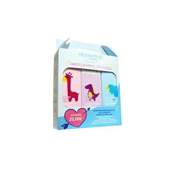 Helenvita Baby Promo Pack Με Baby Body Milk 200ml & Baby Nappy Rash Cream 150ml & Baby All Over Cleanser 300ml