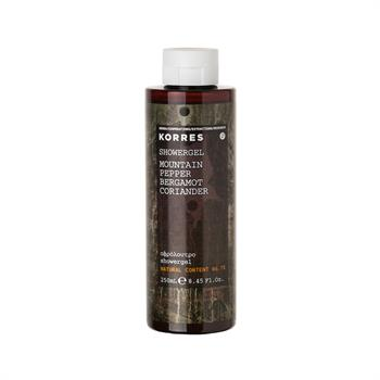 Korres Showergel Αφρόλουτρο Mountain Pepper Bergamot Coriander 250ml