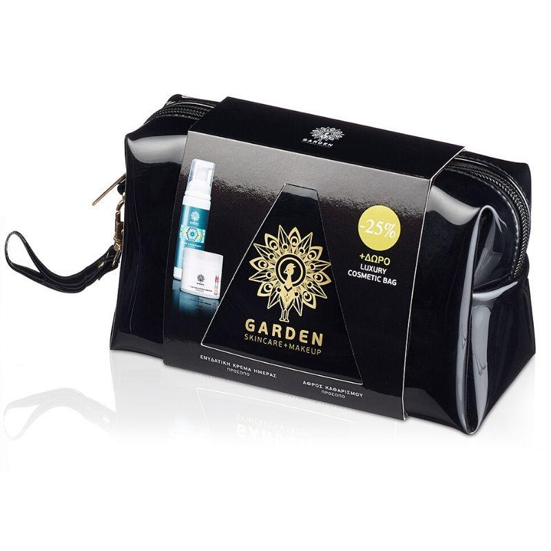 Garden Luxury Bag Set No3 Ενυδατική Κρέμα Πρόσωπου SPF15 50ml & Αφρός Καθαρισμού 100ml