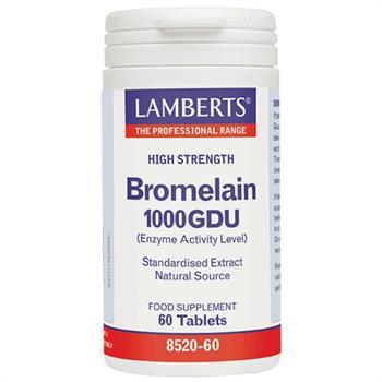 Lamberts Bromelain 1000 GDU 60 tabs