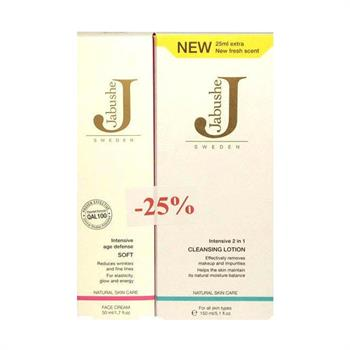 Jabu'She Set Intensive Age Defense Soft 50ml & Intensive 2 in 1 Cleansing Lotion 150ml