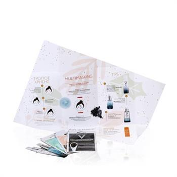 Vichy Set Xmas Pack Masks - Mineral Mask, Detox Clarifying Charcoal Mask, Glow Peeling Mask μαζί με την δοκιμή Mineral 89 & Mineral 89 eyes