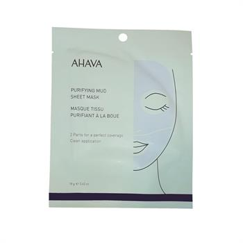 Ahava Time to Clear Purifying Mud Sheet Mask 18gr