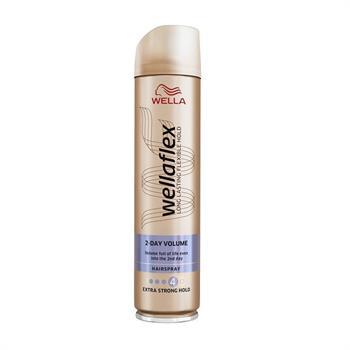 Wella Wellaflex Hairspray 2-Day Volume Extra Strong Hold No4 250ml