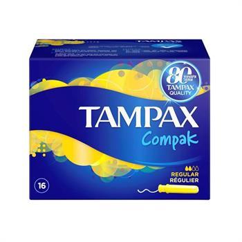 Tampax Compak Regular Ταμπόν 16τμχ