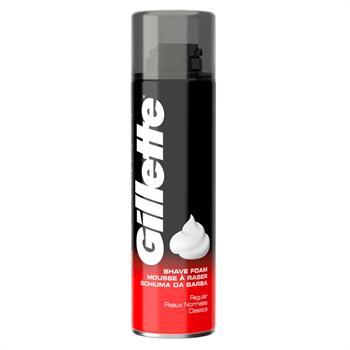 Gillette Classic Regular Αφρός Ξυρίσματος 200ml