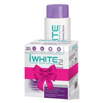 iWhite Set Instant Teeth Whitening System & iWhite Mouthwash 500ml