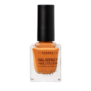 Korres Gel Effect Nail Color 92 Mustard 11ml