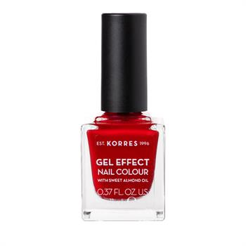 Korres Gel Effect Nail Color 54 Melted Rubies 11ml