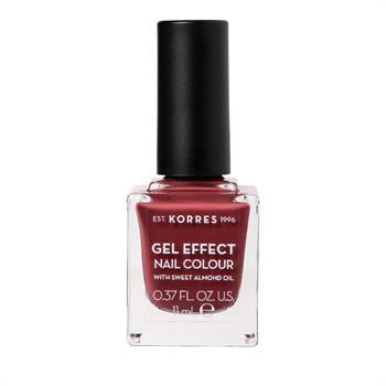 Korres Gel Effect Nail Color 77 Vintage Bordeaux 11ml