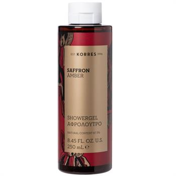 Korres Saffron Amber Shower Gel Αφρόλουτρο 250ml