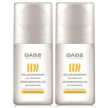 Babe Promo Roll-On Deodorant Αποσμητικό 50ml 1+1 ΔΩΡΟ
