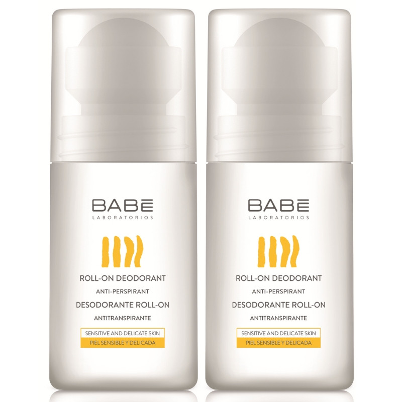 Babe Promo Roll-On Deodorant Αποσμητικό 50ml 1+1 ΔΩΡΟ