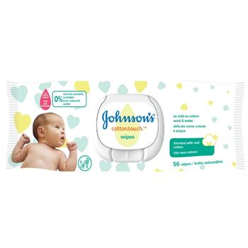Baby Cottontouch Wipes Extra Sensitive 56τμχ