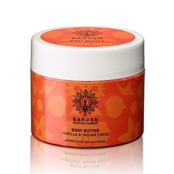Garden Body Butter Vanilla & Indian Cress 200ml
