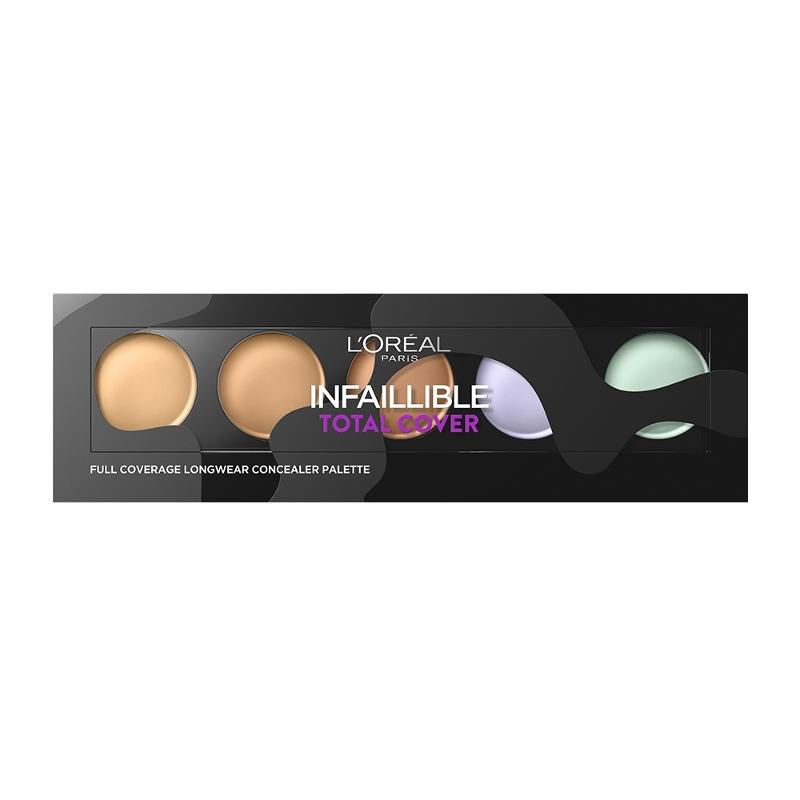 L'Oreal Infaillible Total Cover Concealer Palette 10gr