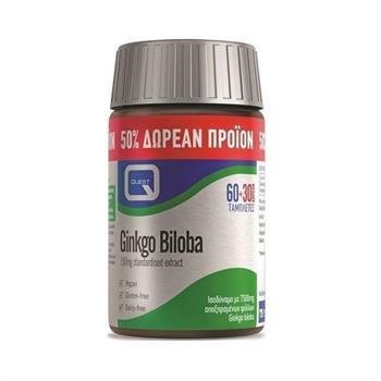 Quest Gingko Biloba 150 mg 60 & 30tabs