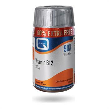 Quest Vitamin B12 500 μg 60 & 30tabs