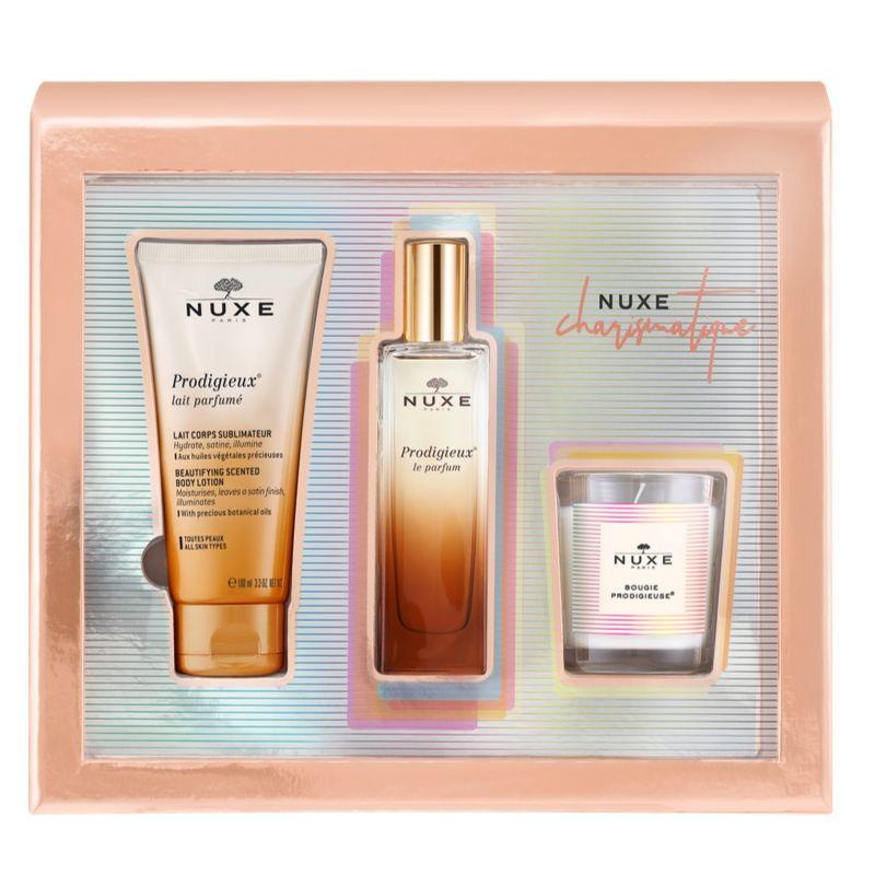 Nuxe Xmas Set Charismatique Prodigieux Le Parfum Spray 50ml & ΔΩΡΟ Body Lotion 100ml & Κερί Prodigieux 70g