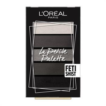 L'Oreal La Petite Mini Eyeshadow Palette 06 Fetishist 5x0.80gr