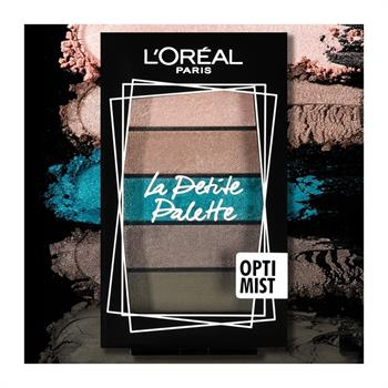 L'Oreal La Petite Mini Eyeshadow Palette 03 Optimist 5x0.80gr