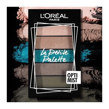 L'Oreal La Petite Mini Eyeshadow Palette 03 Optimist 5x0.80gr