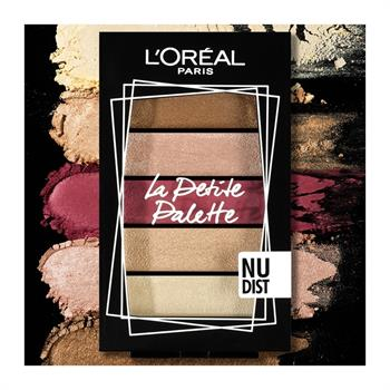 L'Oreal La Petite Mini Eyeshadow Palette 02 Nudist 5x0.80gr