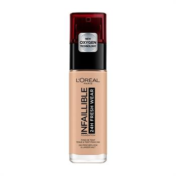 L'Oreal Infaillible 24H Foundation 145 Rose Beige 30ml