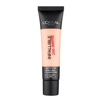 L'Oreal Infaillible 24H Matte Foundation 12 Natural Rose 35ml