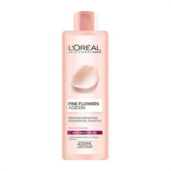 L'Oreal Fine Flowers Lotion For Dry/Sensitive Skin 400ml