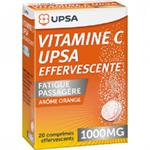 Upsavit-C Συμπλήρωμα Διατροφής Βιταμίνης C 1000 mg με Γεύση Πορτοκάλι 20 Αναβράζοντα Δίσκια