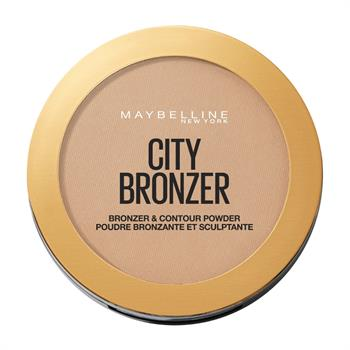 Maybelline City Bronzer & Contour Powder 200 Medium Cool 8gr
