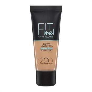 Maybelline Fit Me Matte + Poreless Foundation 220 Natural Beige 30ml
