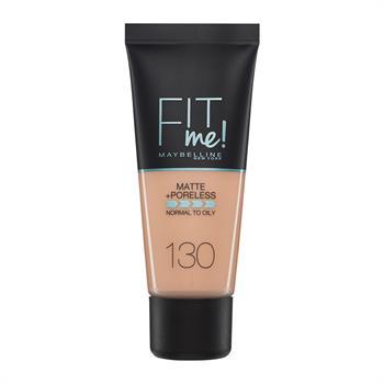 Maybelline Fit Me Matte + Poreless Foundation 130 Buff Beige 30ml