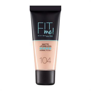 Maybelline Fit Me Matte + Poreless Foundation 104 Soft Ivory 30ml