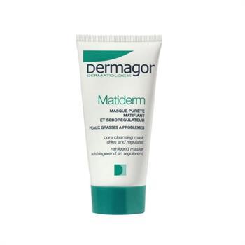 Inpa Dermagor Matiderm Masque Purete Μάσκα Καθαρισμού για Λιπαρό Δέρμα 40ml