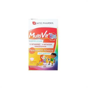 Forte Pharma MultiVit Kids 30 Μασώμενα Δισκία