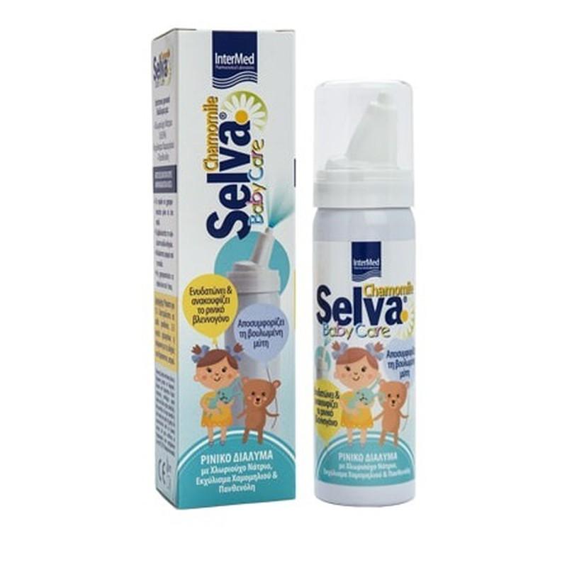 Intermed Selva Baby Care Nasal Solution Chamomile 50ml