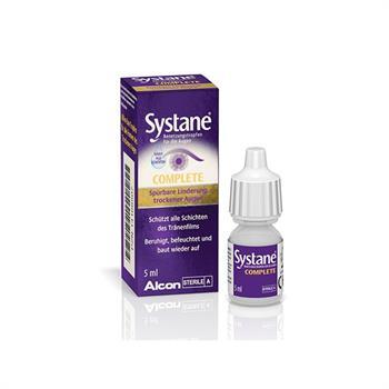 Systane Complete Λιπαντικές Οφθαλμικές Σταγόνες 5ml