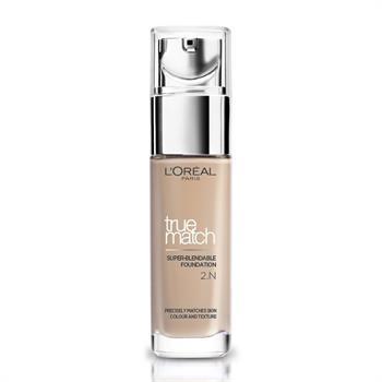 L'Oréal True Match Foundation 2N Vanilla 30ml