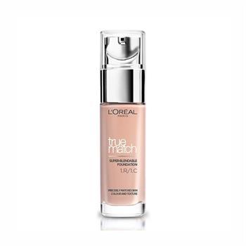 L'Oréal True Match Foundation 1R1C Rose Ivory 30ml