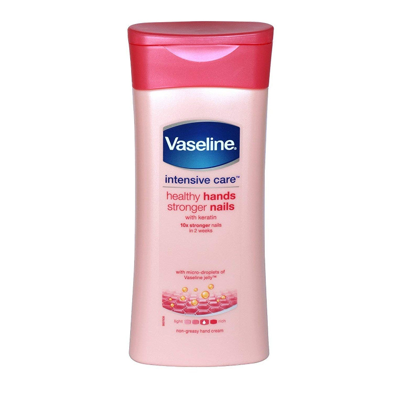 Vaseline Intesive Care Healthy hands & stronger nails Lotion 200ml