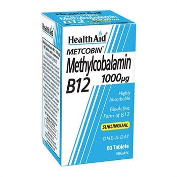 Health Aid Methylcobalamin B12 1000μg 60tabs