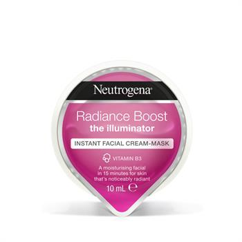 Neutrogena Radiance Boost Instant Facial Cream Mask Μάσκα Προσώπου 10ml